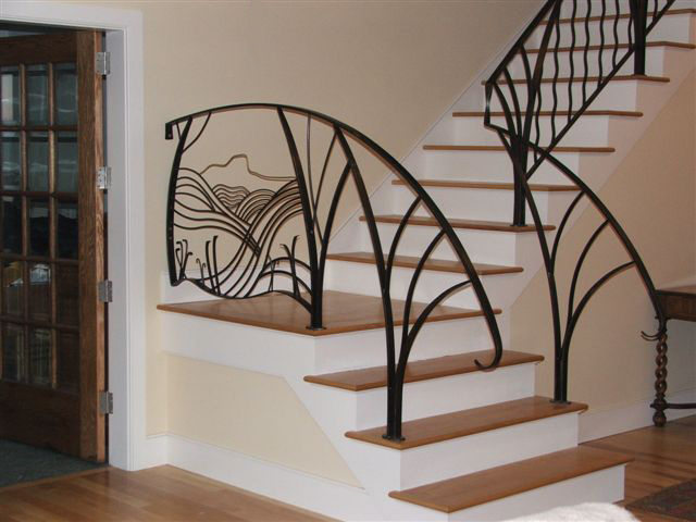 Awesome Interior Stair Railing Kits | EVA Furniture