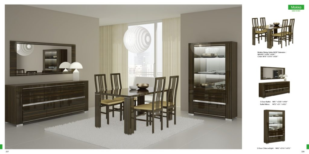 Modern dining room sets to give trendy look in modern home for Best modern dining rooms
