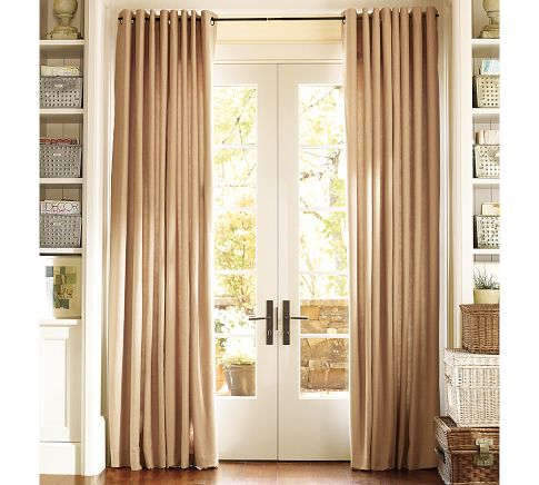 French Window Treatments For Patio Doors