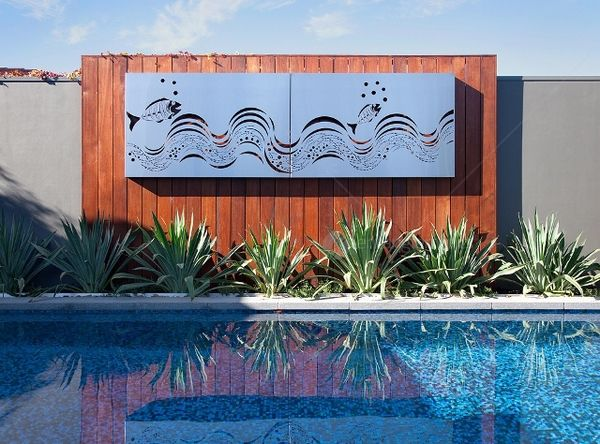Garden Metal Wall Art Ideas
