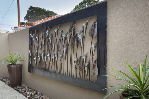 Home Outdoor Metal Wall Art