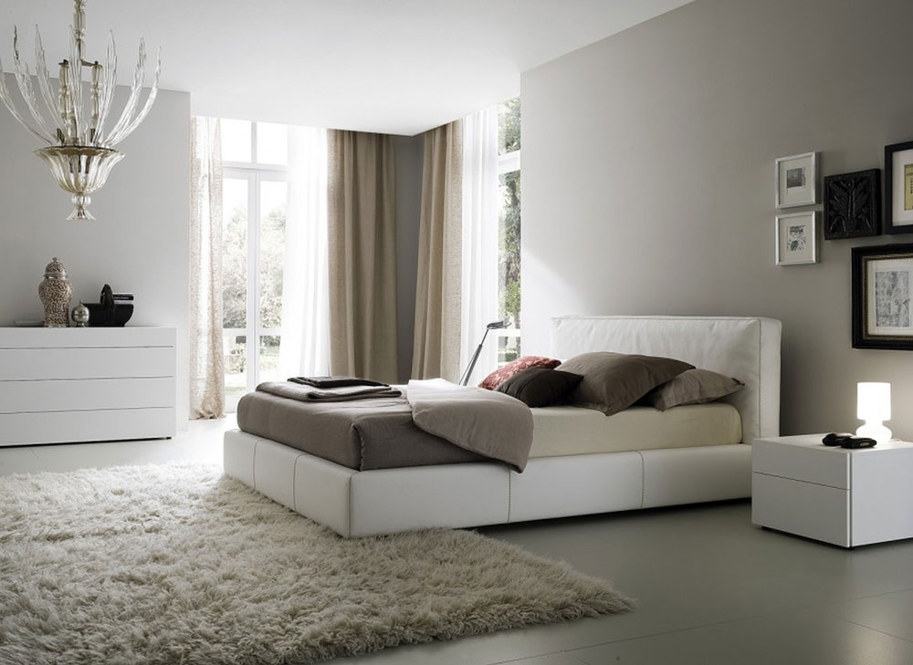Minimalist White Bedroom Interior Design Ideas