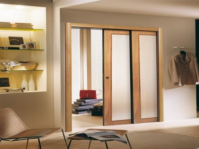 Modern ideas interior sliding doors for Sliding door options