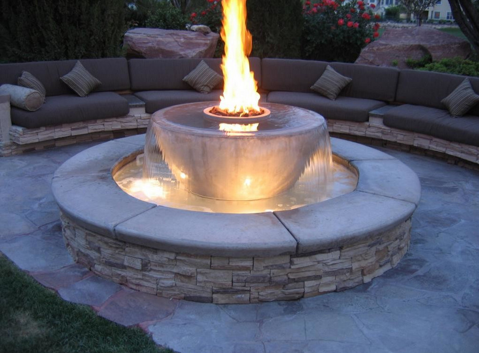 Outdoor Natural Gas Fire Pits