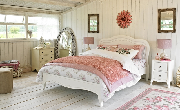 Modern Shabby Chic Bedroom Design Ideas | EVA Furniture