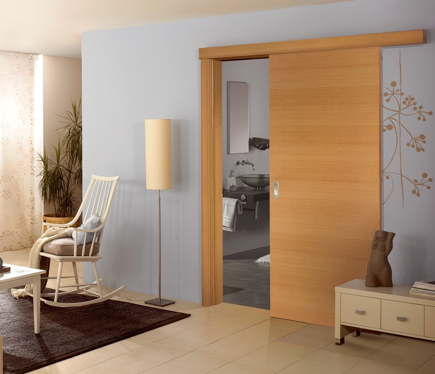 Modern Interior Sliding Door Design | EVA Furniture
