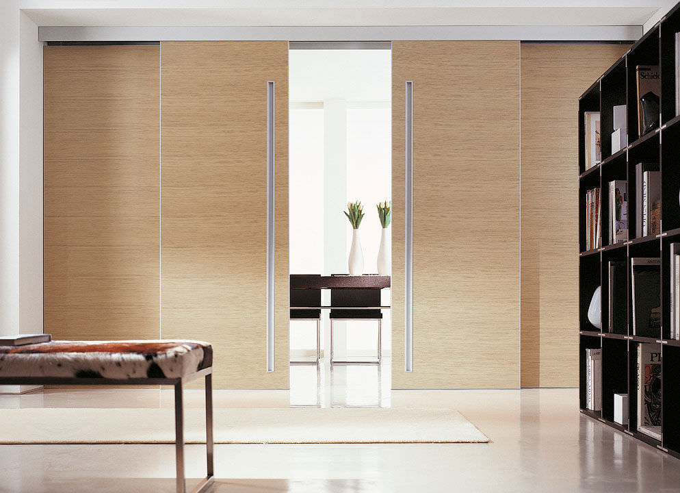 Sliding Door Wood Double Hardware