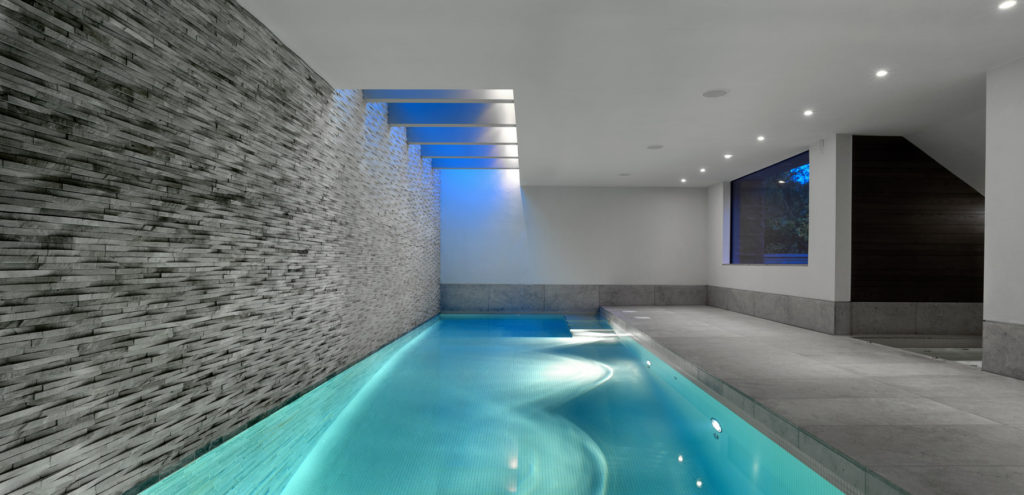 small indoor swimming pool house - Indoor House Pools