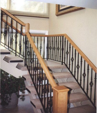 Stair Railing Brakects