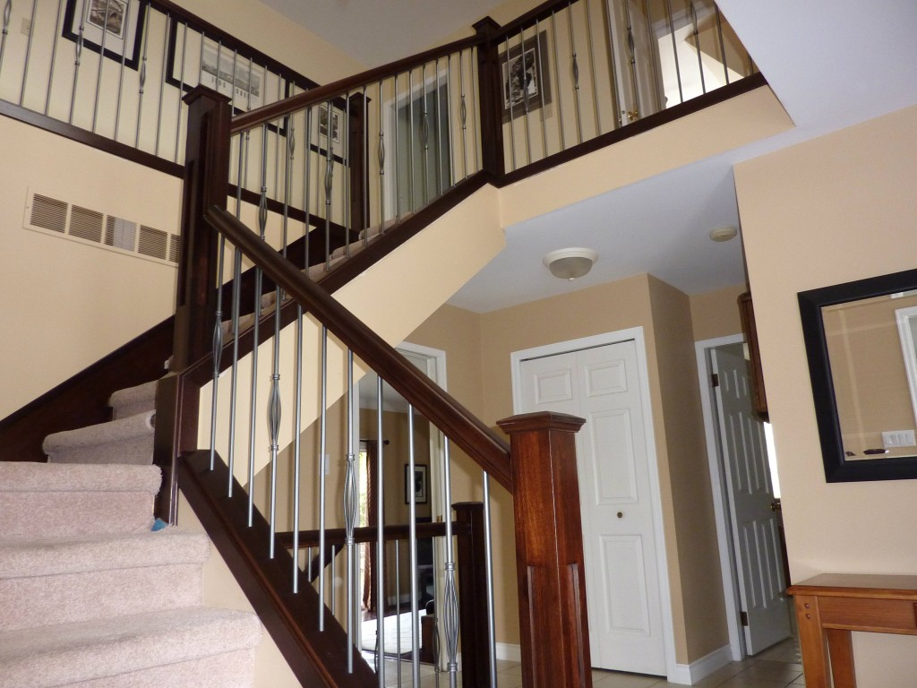 Applying Stair Railings To Enhance Your Home Design EVA Furniture