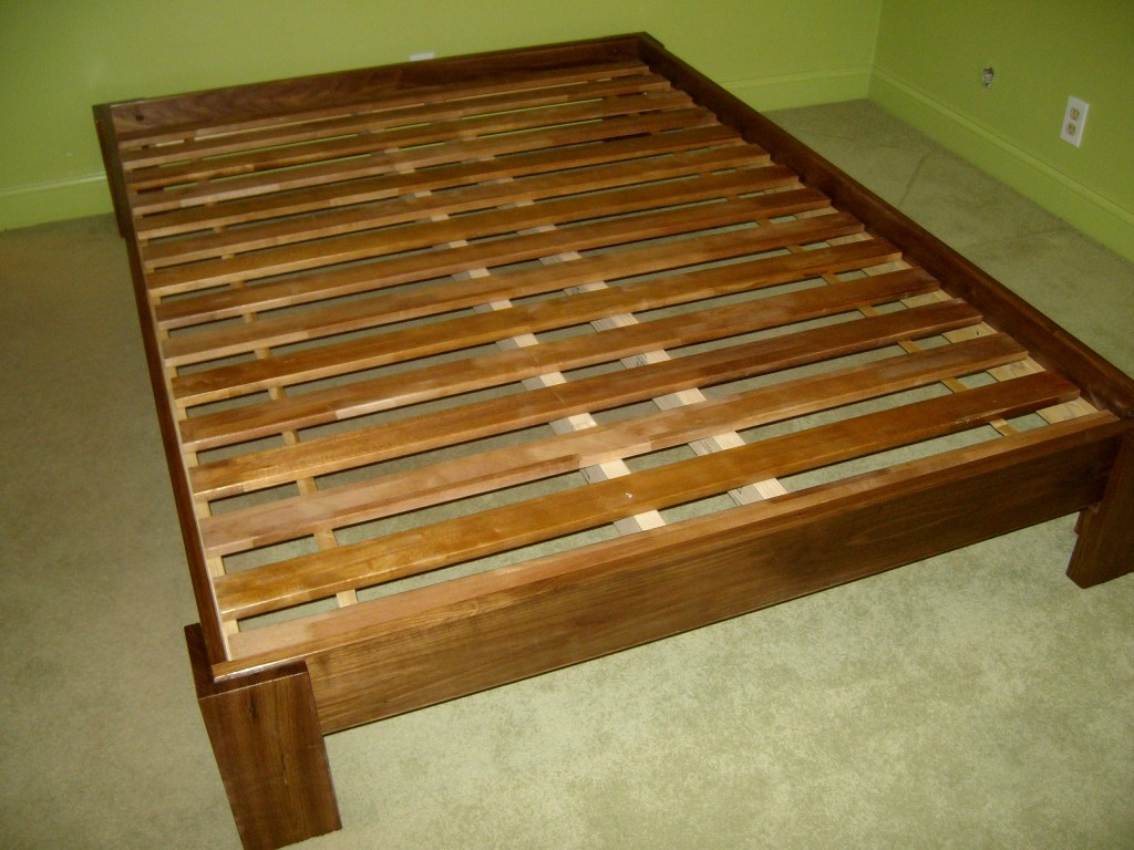 King Platform Bed Frame