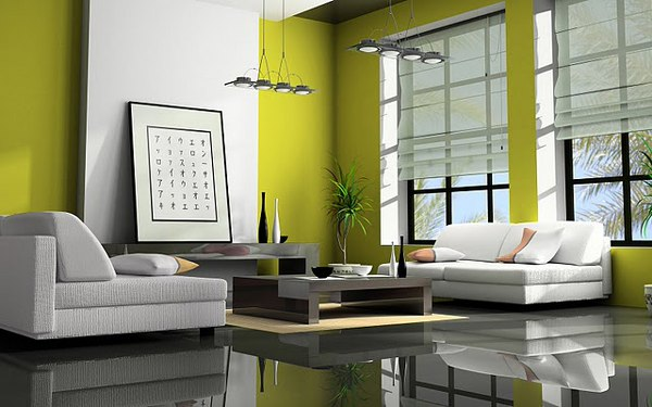 Living Room Feng Shui Decor