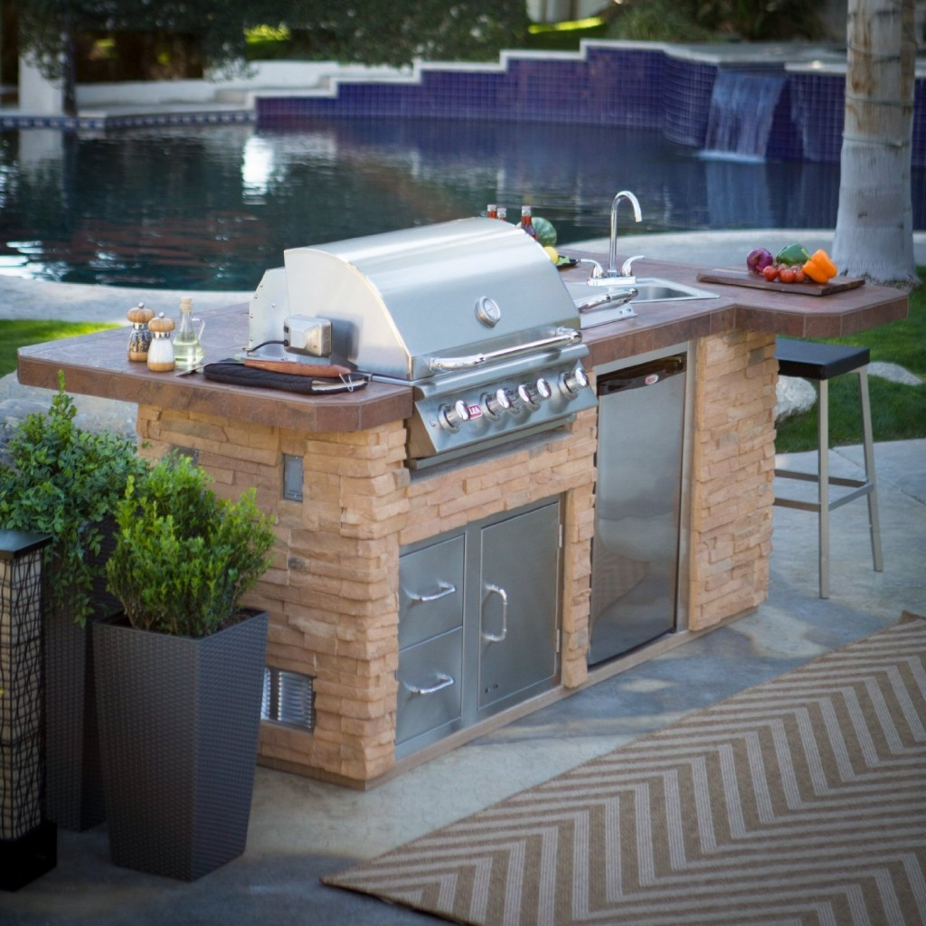 ... Modular Outdoor Kitchen Cabinets Photo ...
