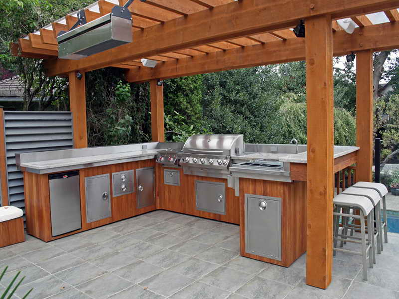 Modular Outdoor Kitchen Units