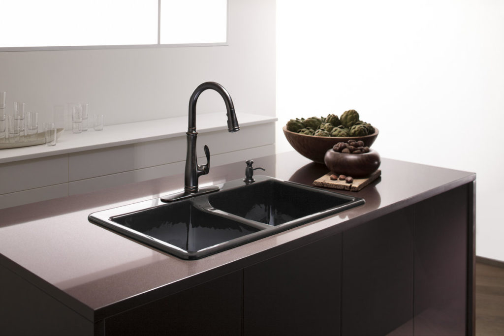 Simple Kohler Kitchen Faucets Design