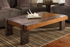 Rustic Coffee Tables For Natural Tones