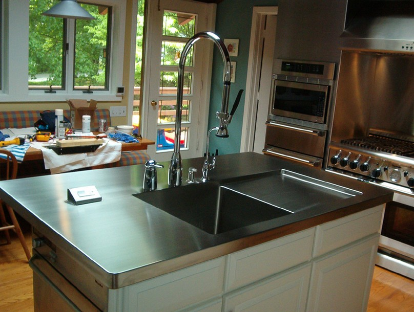 cost of stainless steel countertops. Black Bedroom Furniture Sets. Home Design Ideas