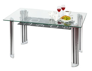 Be Safe and Stylish With a Tempered Glass Table Top