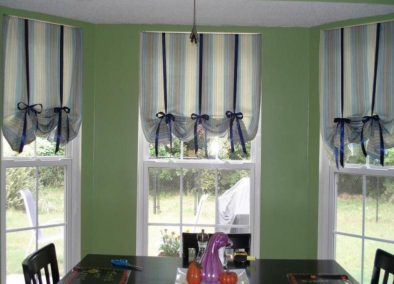Kitchen Window Curtains Ideas