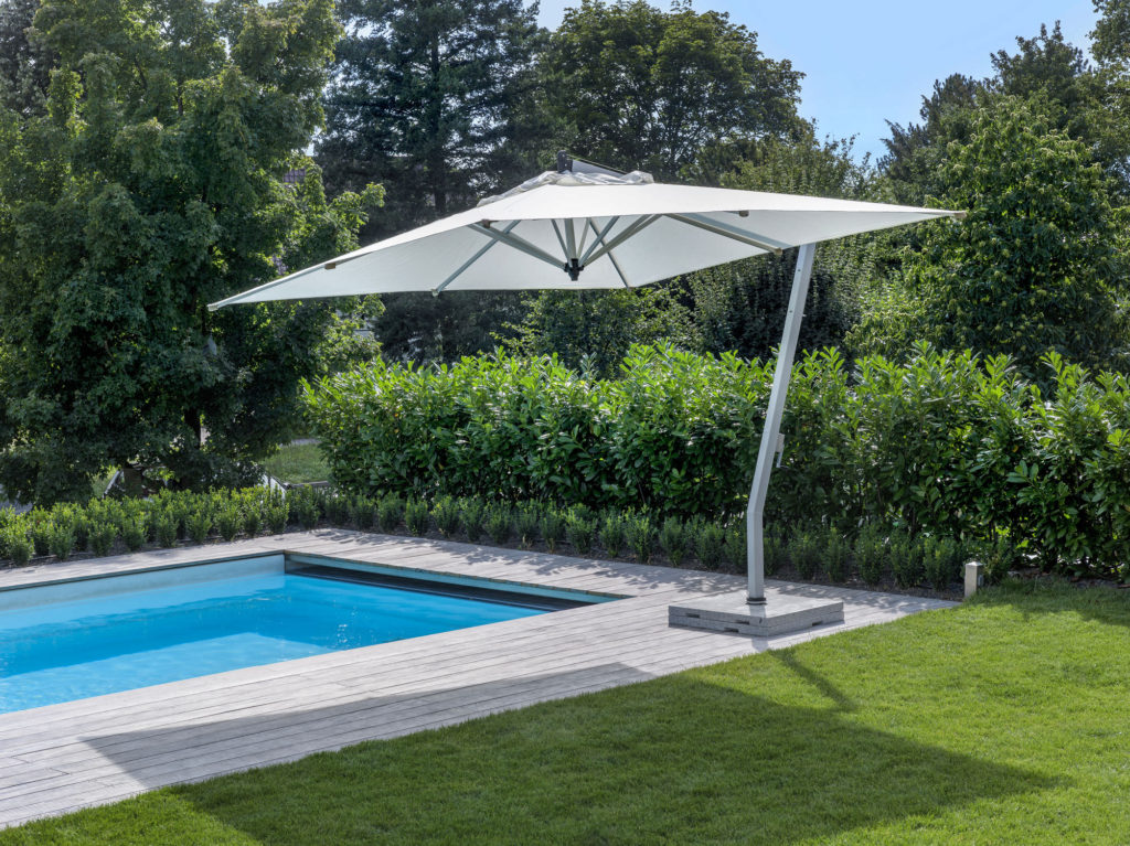 1 Foot Rectangular Patio Umbrella