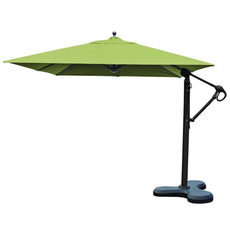 Backyard Offset Patio Umbrella