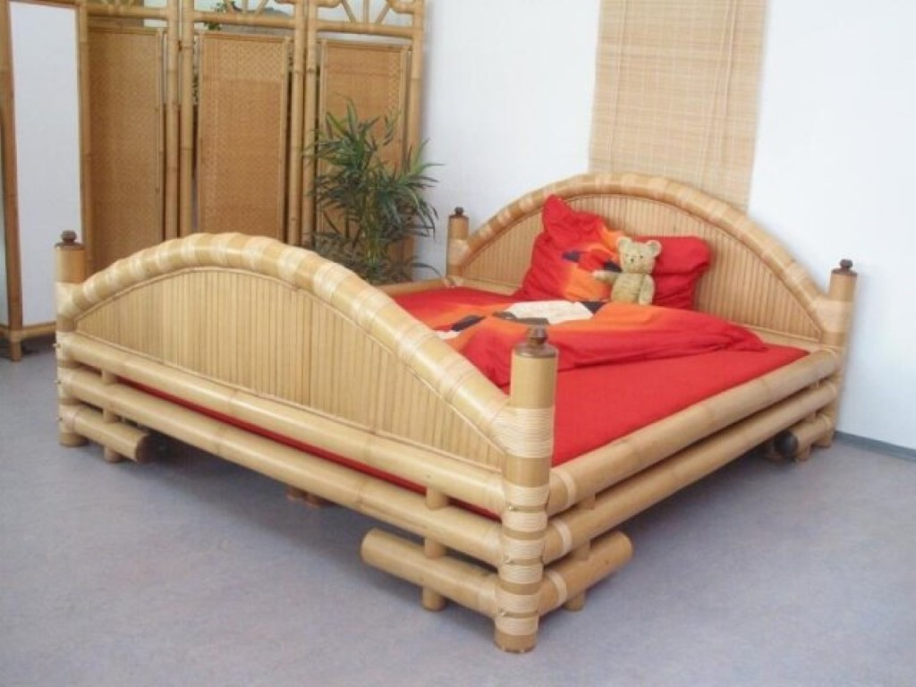 Bamboo and Rattan Bedroom Furniture