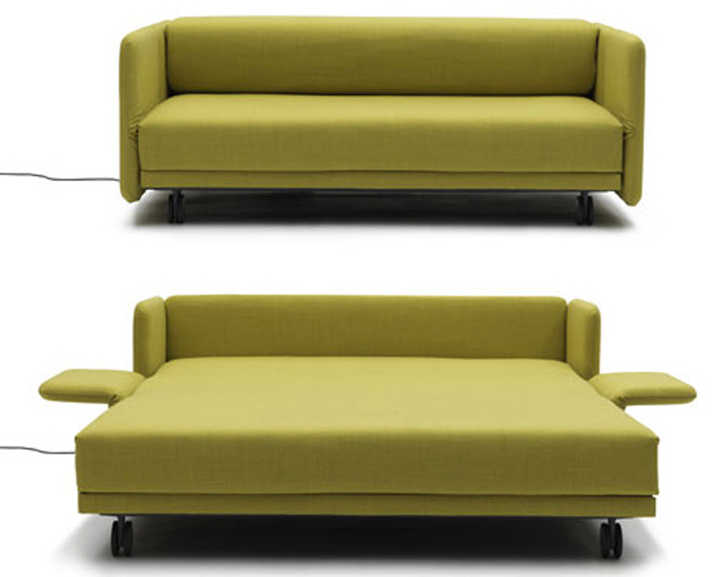 Loveseat sleeper sofa for convertible furniture piece eva furniture - Small space convertible furniture image ...