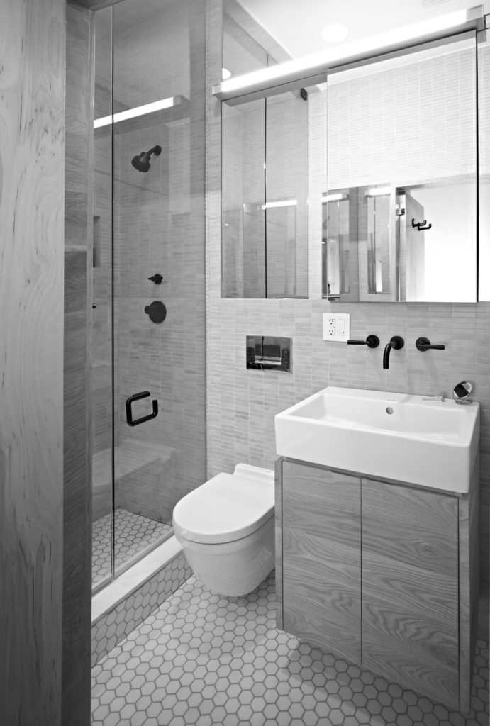 Small shower room ideas for small bathrooms eva furniture - Modern bathroom design for small spaces ...
