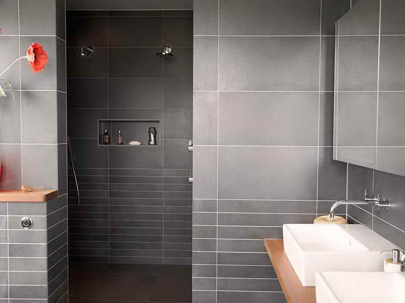 Contemporary Bathroom Tile Design Ideas with Fancy Design