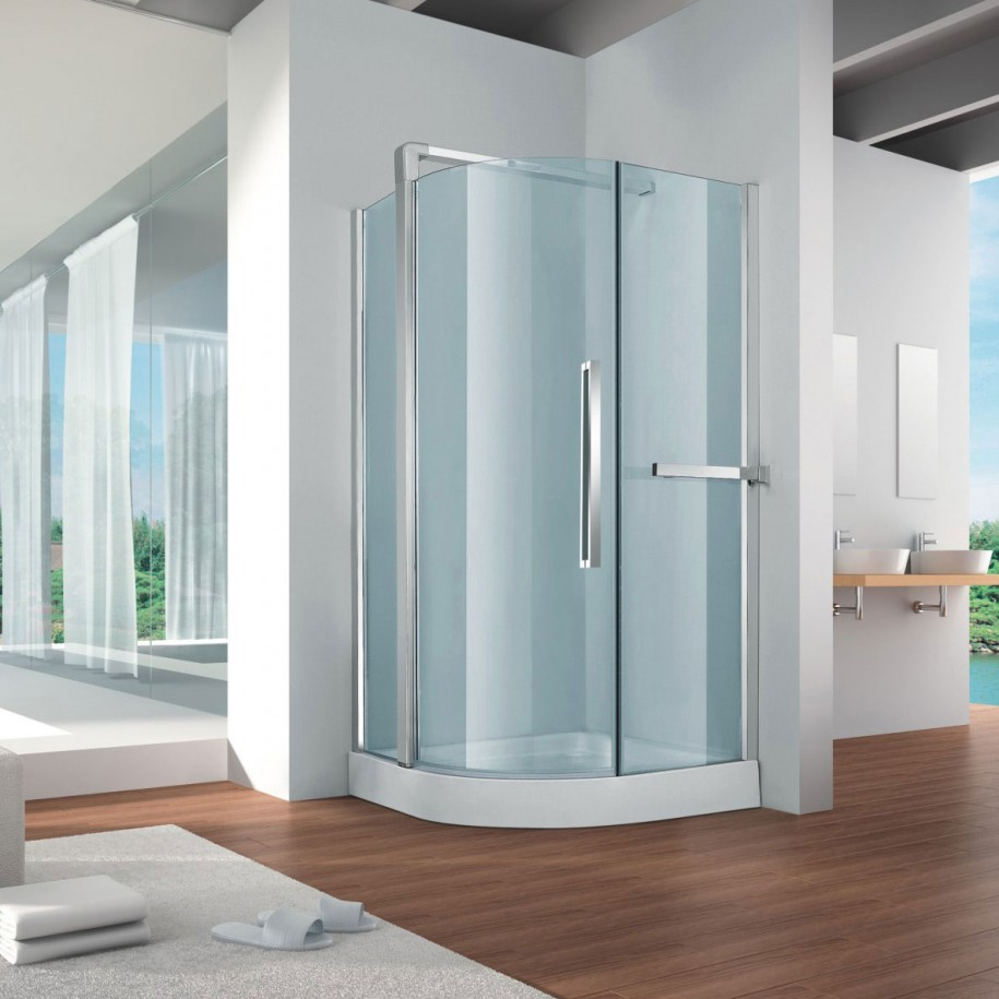 Contemporary Small Shower Room Design EVA Furniture