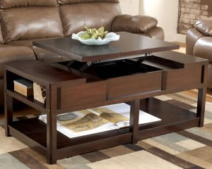 Small Coffee Table With Storage, Perfect for Small Living Room