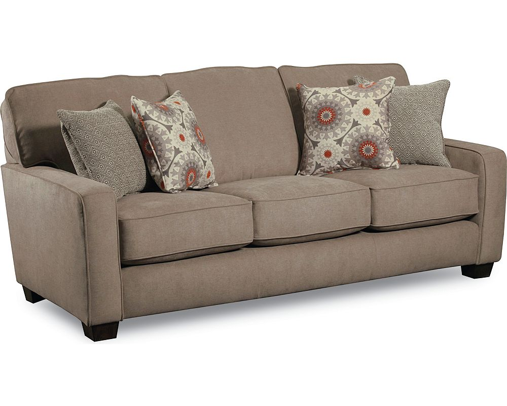 Allerton queen plus sleeper sofa refil sofa for Sleeper sectional