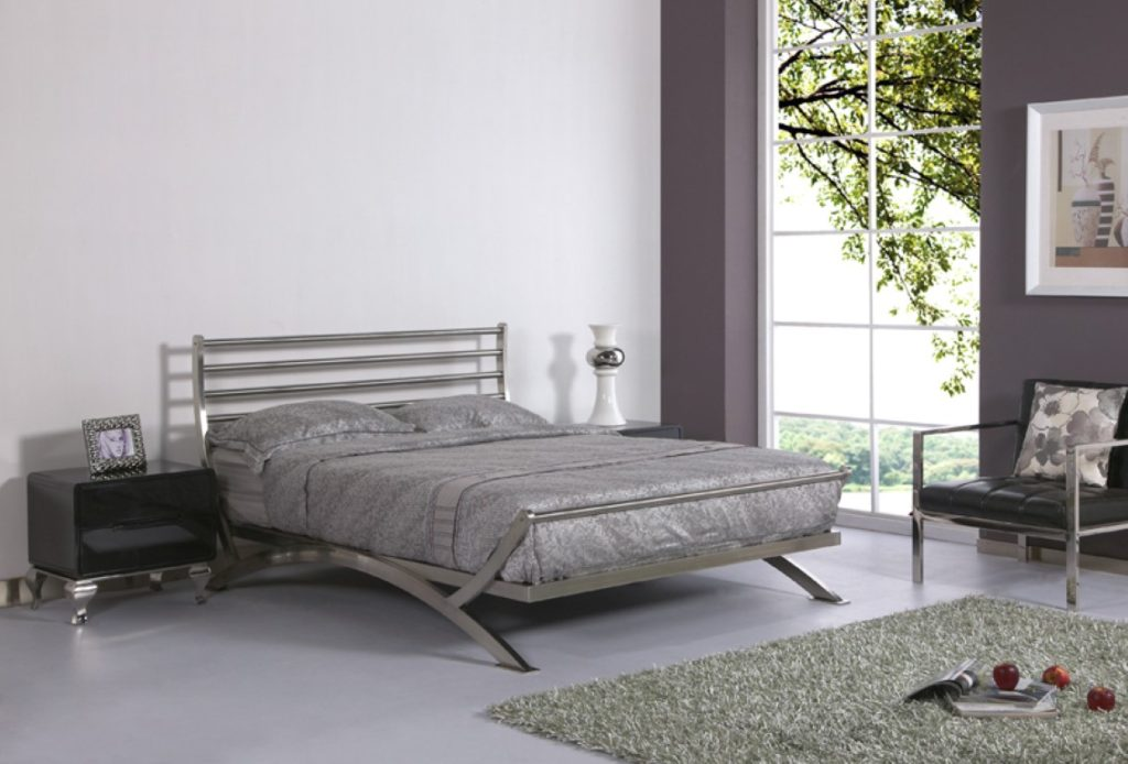 black metal bedroom furniture eva furniture ForMetal Bedroom Furniture