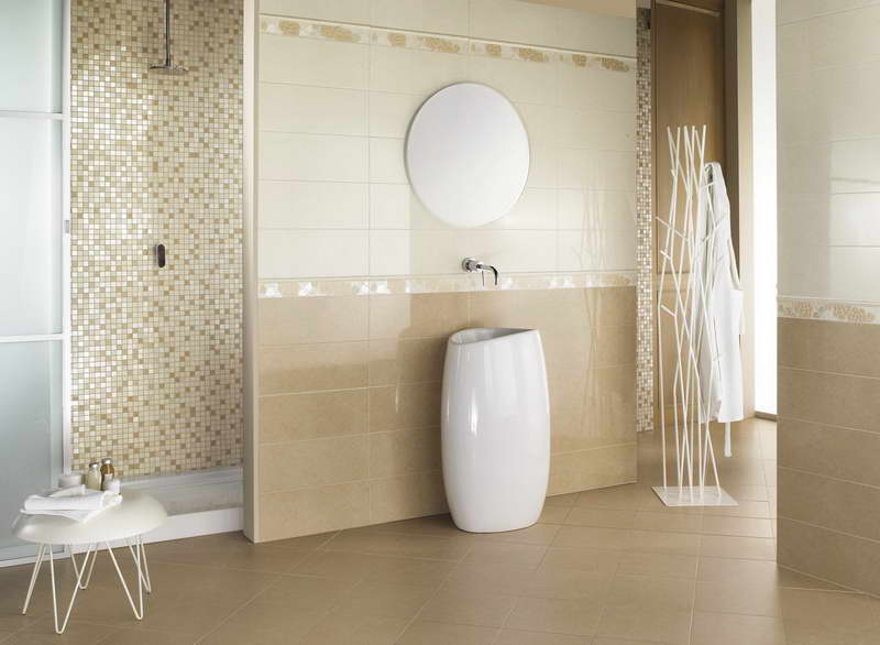 Modern Small Bathroom Tile Ideas