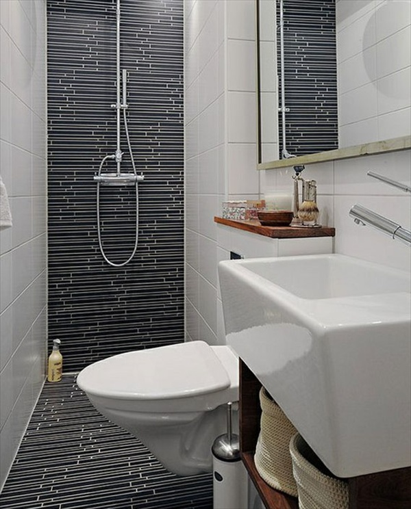 Small shower room ideas for small bathrooms eva furniture - Best toilet for small space design ...