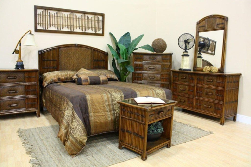 furniture Bamboo bedroom