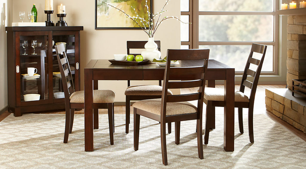 Dining room sets glass b m boston dining set 309045 b m for B m dining room furniture