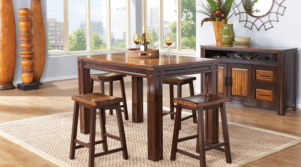 Affordable casual dining room sets eva furniture for Rooms to go dining sets