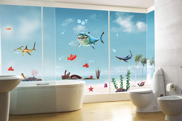 bathroom wall paint decorating ideas