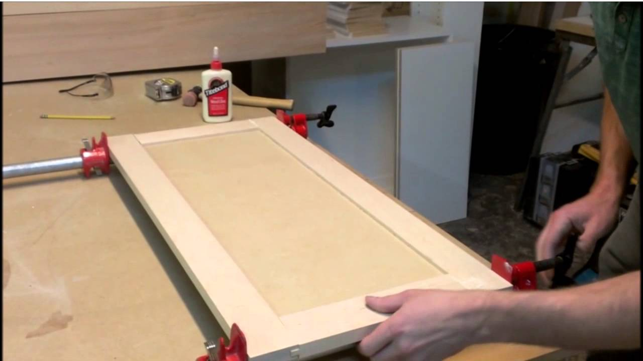 How To Make Simple Shaker Style Kitchen Cabinet Doors