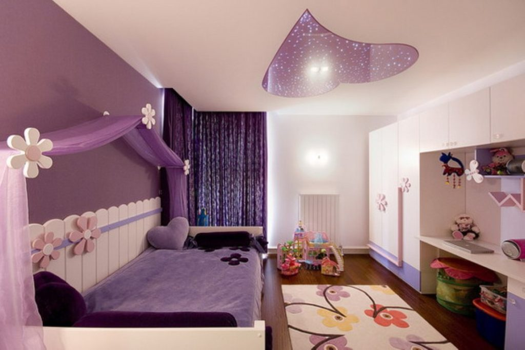 Purple Girls Bedroom Furniture Ideas