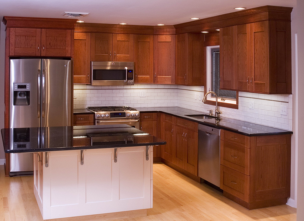Unfinished Cherry Kitchen Cabinets
