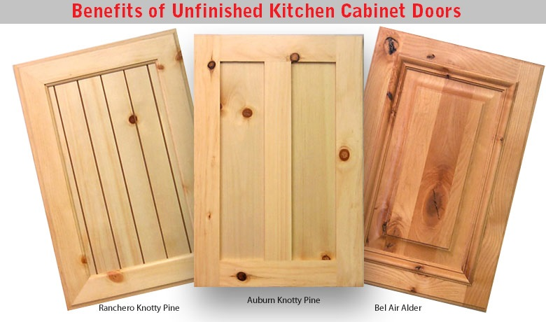 Unfinished kitchen cabinet doors design for Kitchen cabinet doors