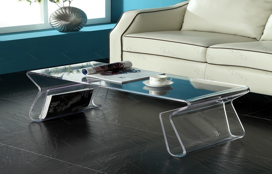 Merveilleux Acrylic Coffee Table Base