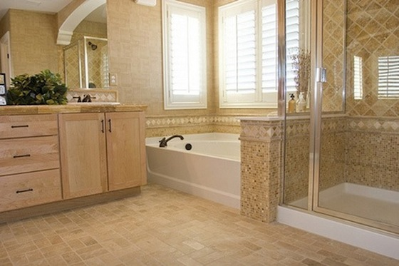Vinyl Bathroom Flooring Ideas