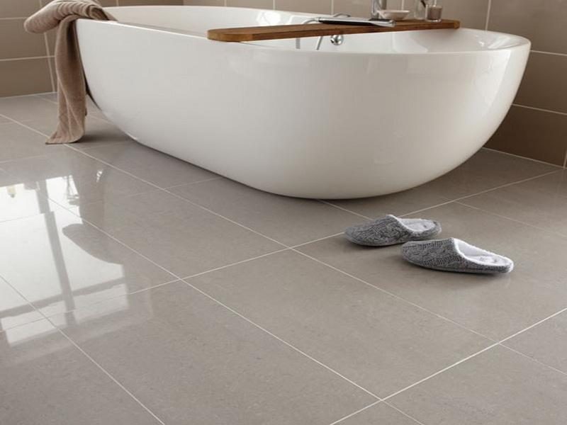 Laying Porcelain Tile Floor In Bathroom - Image Bathroom 2017