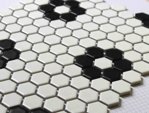 Hexagon Bathroom Floor Tile Design Ideas