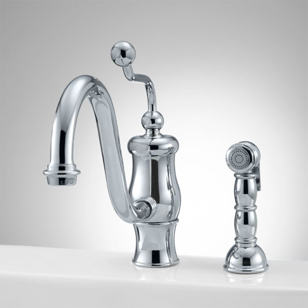 Cleaning Stainless Steel Kitchen Faucets