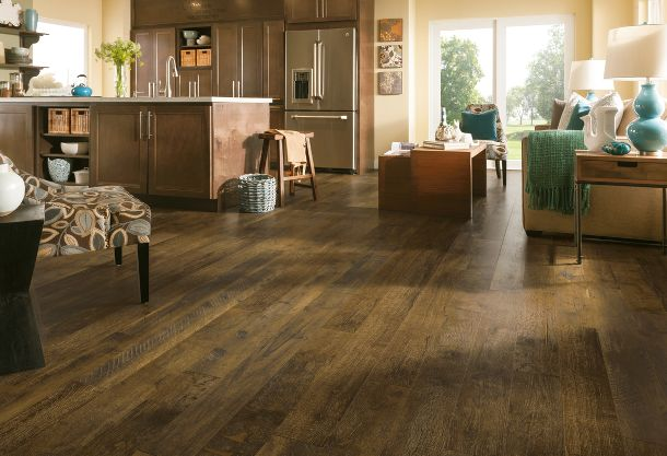 how to clean laminate flooring tile
