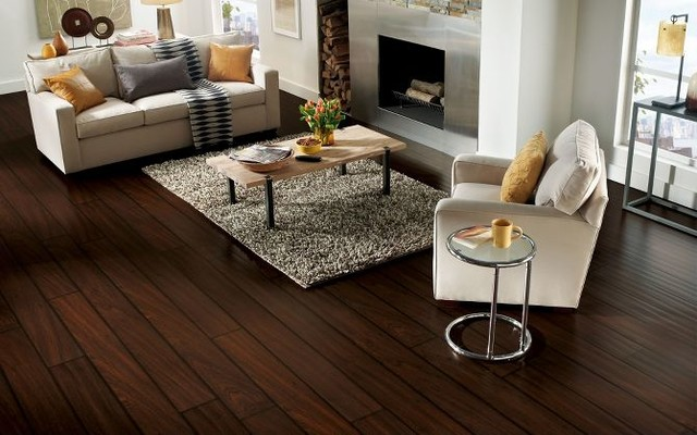 removing paint from laminate flooring